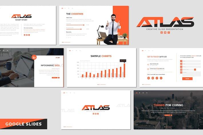 Thumbnail for Atlas - Business Google Slides Template