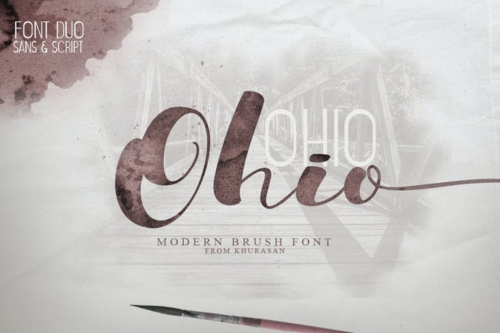 Thumbnail for Ohio Font Duo