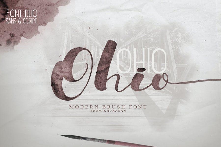 Ohio Font Duo
