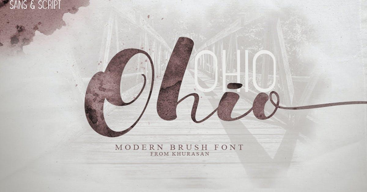 Ohio Font Duo by khurasan