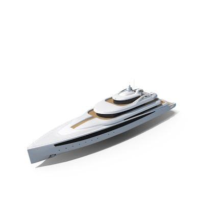 Modern Mega Yacht
