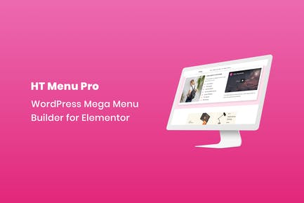 HT Menu Pro – WordPress Mega Menu Builder for Elem
