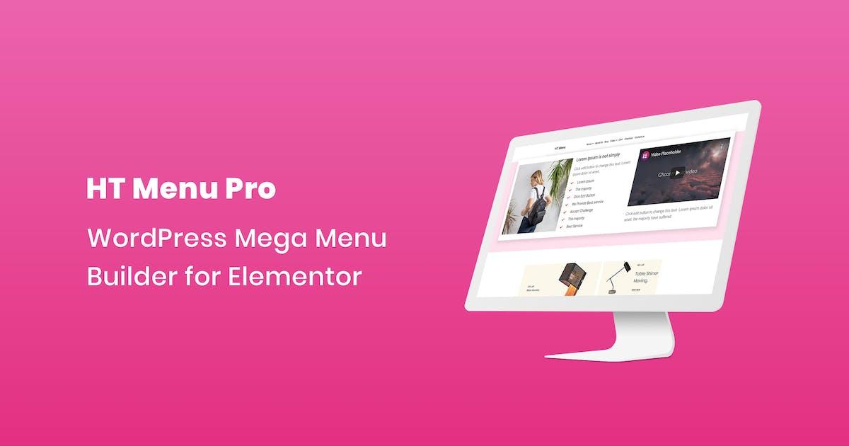 Download HT Menu Pro – WordPress Mega Menu Builder for Elem by codecarnival
