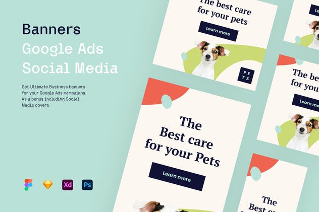 Pets and Animals vol.3 - Banners