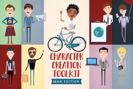 Character Creation Toolkit-Men