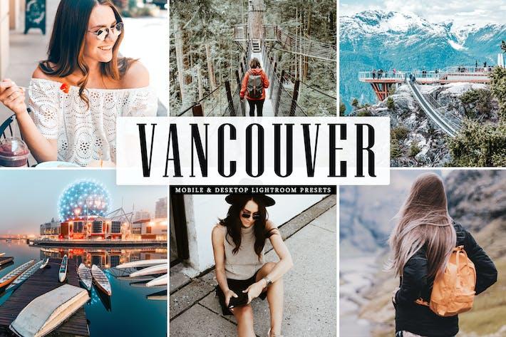 Thumbnail for Vancouver Mobile & Desktop Lightroom Presets