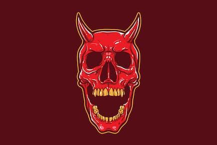 Teufel Schädel