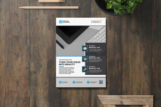 Clean & simple Flyer