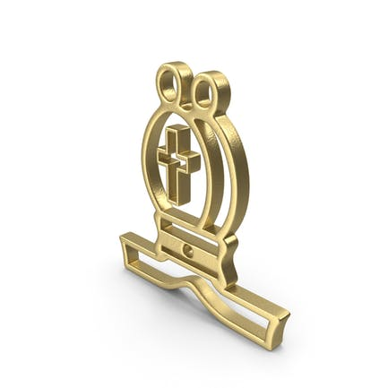 Bishop Logo Gold