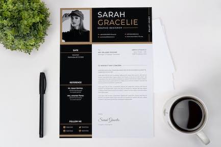 Simple Minimalist CV Resume