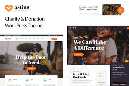 Charity & Donation WordPress Theme - Asting