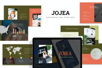 Jojua : Mobile App Keynote