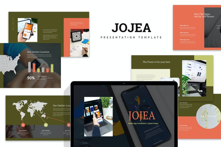 Thumbnail for Jojua : Mobile App Keynote