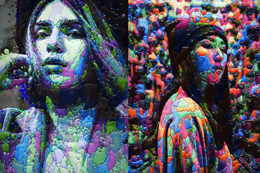 Paints Photoshop Action