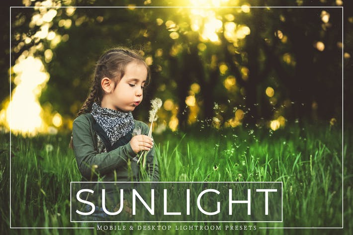 Thumbnail for Sunlight Lightroom Presets Pack