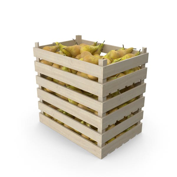 Wooden Crates with Pears Conference