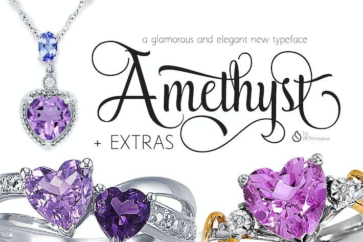 Thumbnail for Amethyst Font Script