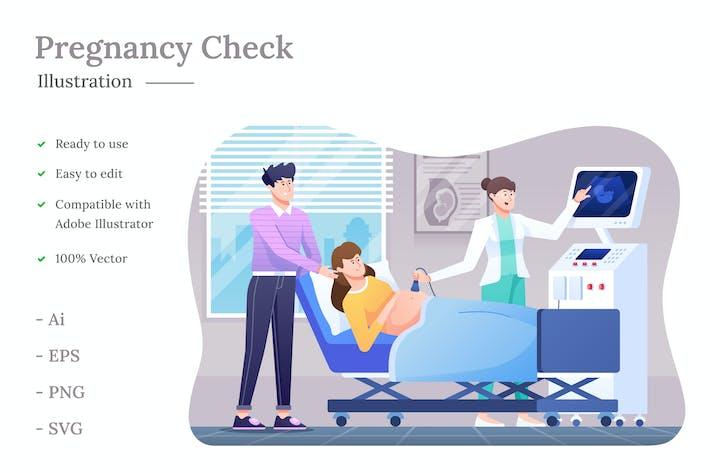 Thumbnail for Pregnancy Check Illustration