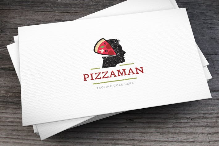 Thumbnail for Pizzaman Logo Template