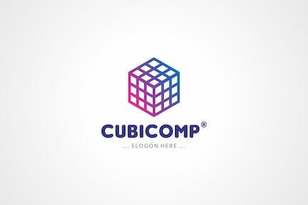 Логотип кубической коробки
