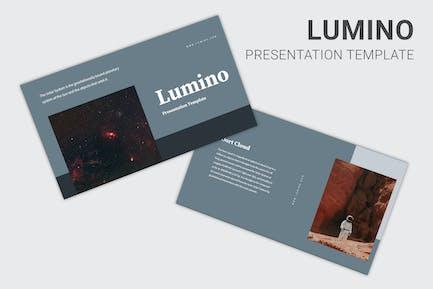 Lumino - Keynote curso de Educación sobre el Sistema Solar