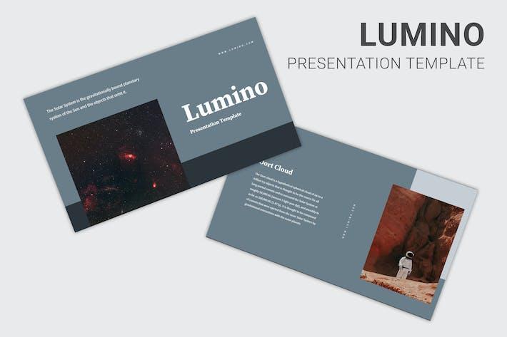 Lumino - Keynote об образовании солнечной системы