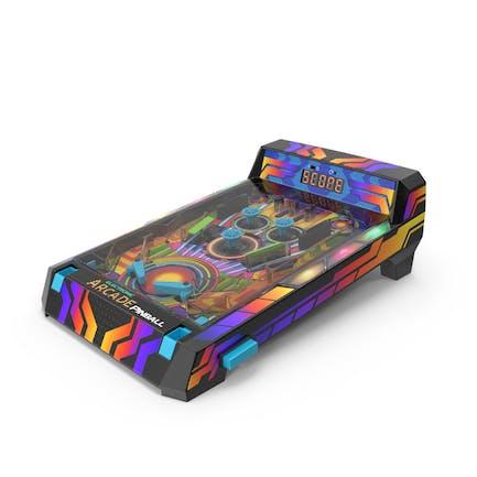 Compact Electronic Pinball Game