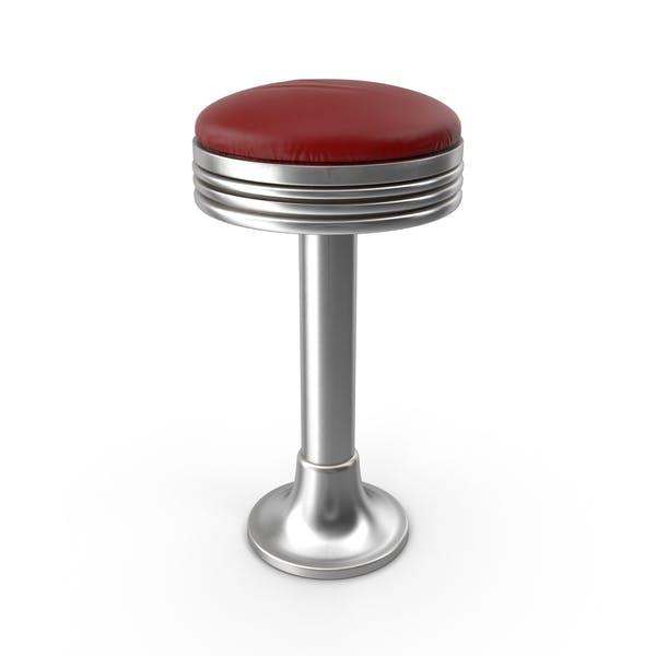 Thumbnail for Retro Soda Fountain Hocker
