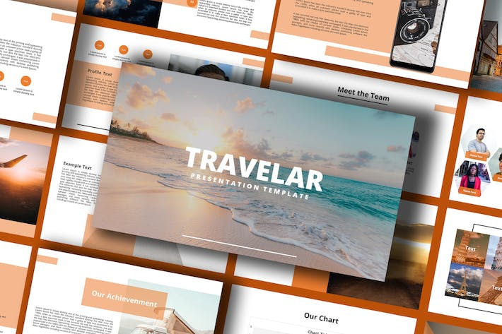 Thumbnail for Treavelar - Powerpoint Template
