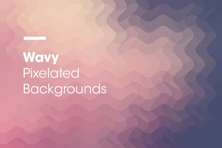 Thumbnail for Wavy | Pixelated Backgrounds