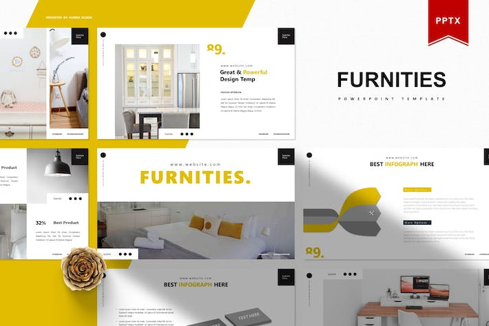 Thumbnail for Furnities | Powerpoint Template