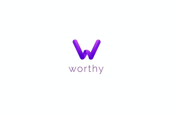 Thumbnail for Worthy - W Letter Logo Template
