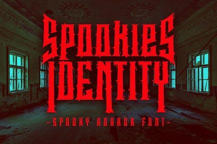 Spookies Identity - Fuente de terror