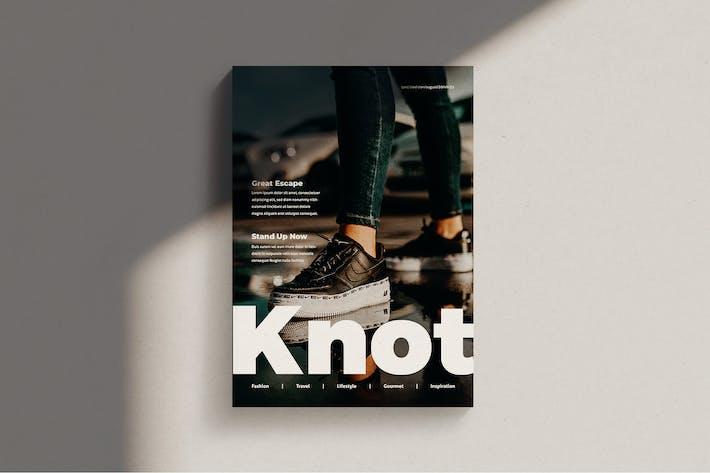 Thumbnail for Knot - Fashion Magazine Template