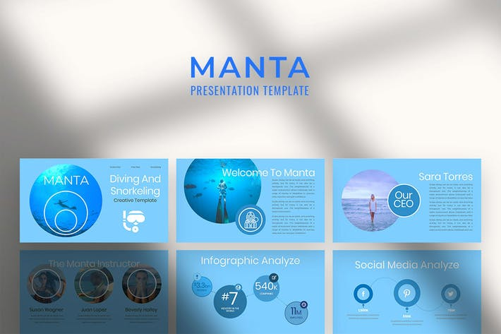 Thumbnail for Manta Multipurpose Google Slide Presentation