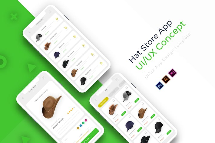Thumbnail for Hat Store | App Template