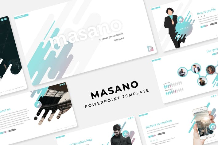 Thumbnail for Masano - PowerPoint Template