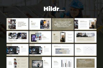 HILDR - Architecture & Developer Keynote Template