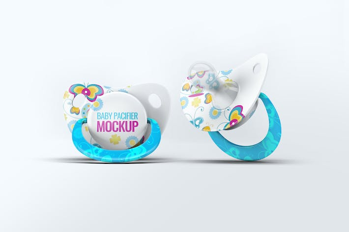 Thumbnail for Baby Pacifier Mock-Up