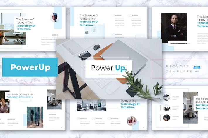 Thumbnail for POWERUP - Company Profile Keynote Template