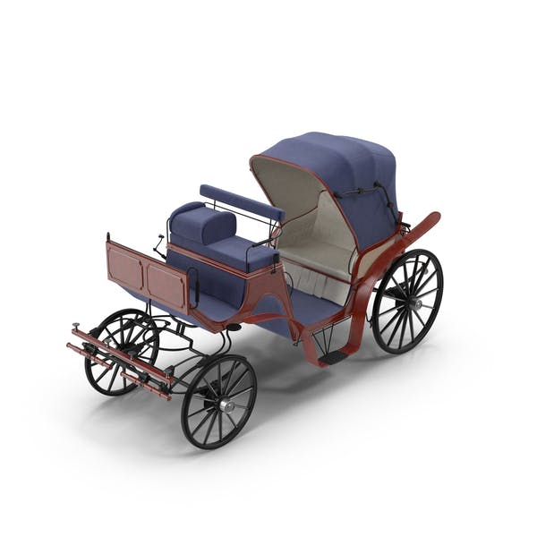 Cover Image for Antique Horse Carriage