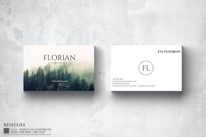 Thumbnail for Florian Photography Business Card