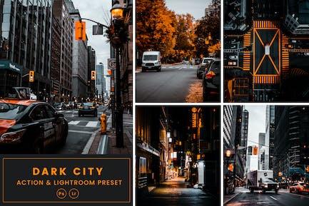 Dark City Action & Lightrom Presets