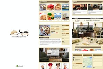 Sushi - Food & Restaurant Shopify Theme