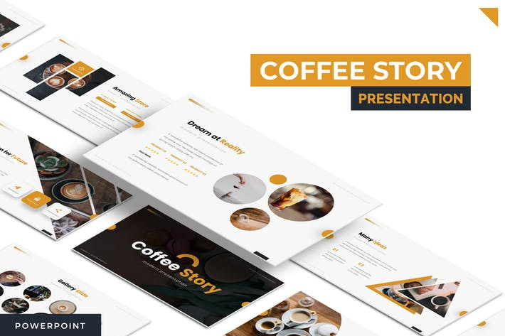 Thumbnail for Coffe Story - Powerpoint Template