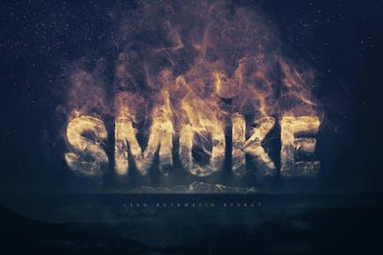 Smoke Logo Text Effect