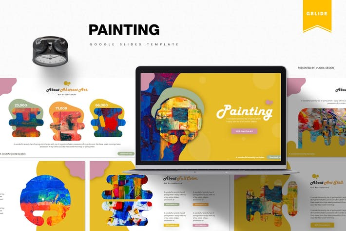 Thumbnail for Painting | Google Slides Template
