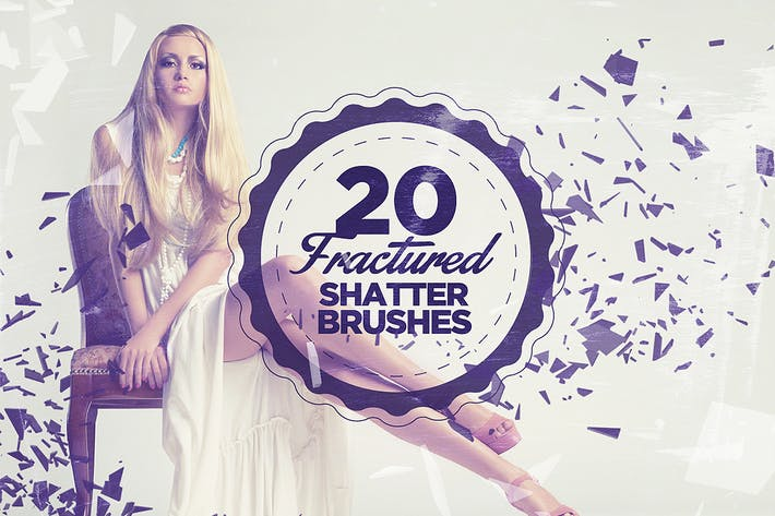 Thumbnail for 20 Fractured Shatter Brushes