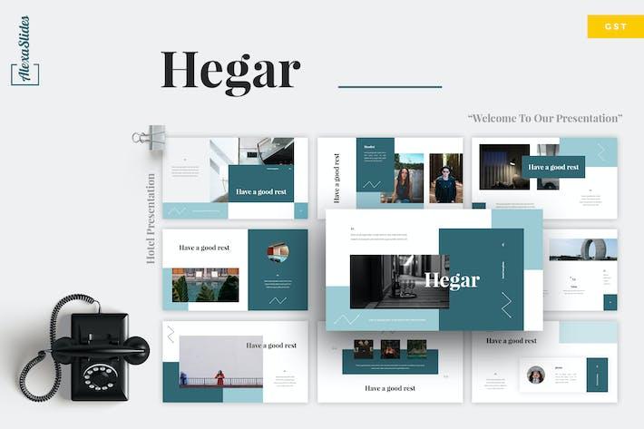 Thumbnail for Hegar - Hotel Google Slides Template
