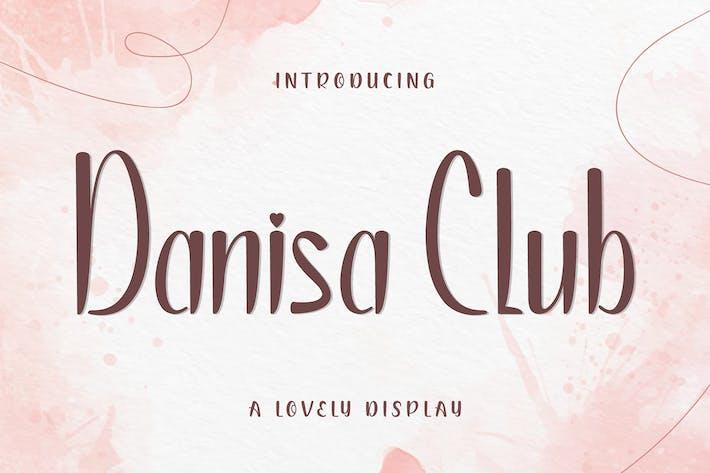 Thumbnail for Danisa Club Display Font
